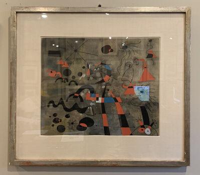 Joan Miró, 'L'echelle de l'evasion (The Escape Ladder), Plate II', 1959