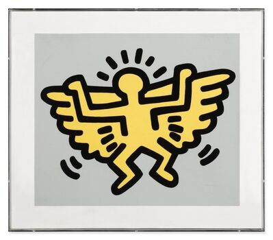Keith Haring, 'Angel from Icons', 1990