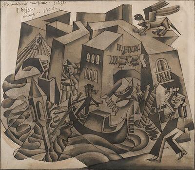 Fortunato Depero, 'Riesumazioni veneziane', 1926