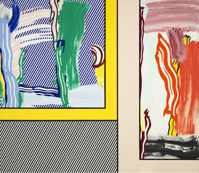Roy Lichtenstein, 'Paintings: Abstractions', 1984