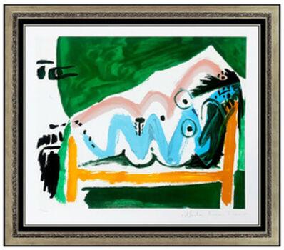 Pablo Picasso, 'Ne Allongee et Tete d'Homme de Profil', 20th Century