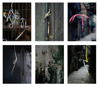 Michael Wolf, '#18, Hong Kong String 2, MFT group', 2014