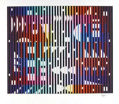 Yaacov Agam, 'Night rainbow', 1982