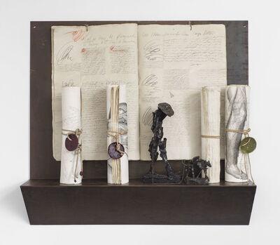 Barbara Chase-Riboud, 'Poet Walking His Dog', 1994