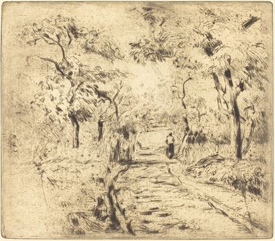 Camille Pissarro, 'In the Fields at Ennery (Dans les champs, a Ennery)', 1875