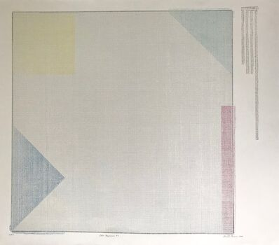Charles Gaines, 'COLOR REGRESSION # 1 ', 1980