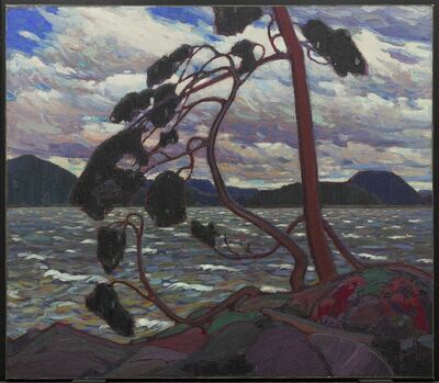 Tom Thomson, 'The West Wind', 1916-1917