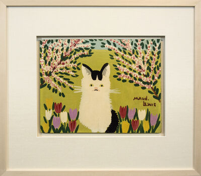 Maud Lewis, 'What Cat With Black Tail', Mid-20th Century