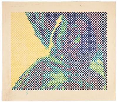 Waldemar Cordeiro, 'Digitalização do Retrato de Fabiana', 1970