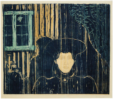 Edvard Munch, 'Mondschien I (Moonlight I)', circa 1896