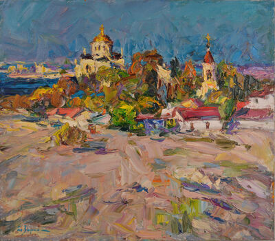 Anatoly Egorovich Zorko, 'Oil painting, original landscape painting', 2012