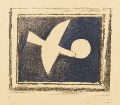 Georges Braque, 'Astre et oiseau I (Star and Bird I)', 1958-59