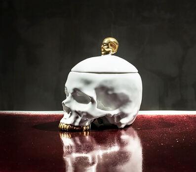 Huang Yulong 黄玉龙, 'White Skull 头骨 (白)', 2015