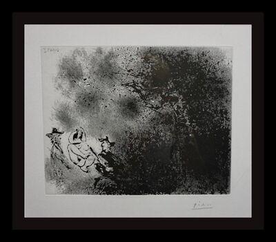 Pablo Picasso, 'Peintures aux: Dejeuner sur laherbs Impressioniste', 1968