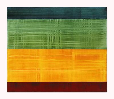 Ricardo Mazal, 'Composition in Greens 6', 2014