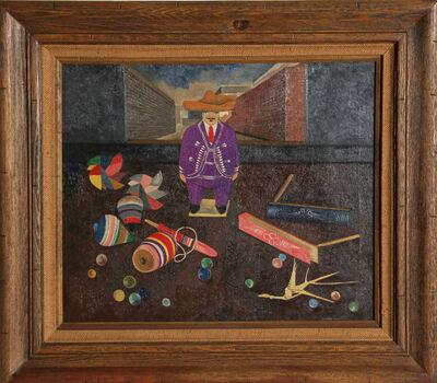 Gustavo Montoya, 'Man with Toys', ca. 1962