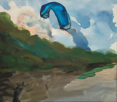 Rainer Fetting, 'Kite Surfer', 2018
