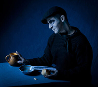 Amy Arbus, 'David/ After Blind Man (Picasso's The Blind Man's Meal, 1903) ', 2012