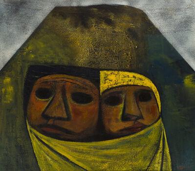 Eduardo Kingman, 'Madre y Nino', 1965