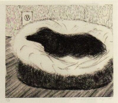David Hockney, 'Dog Wall (1)', 1998