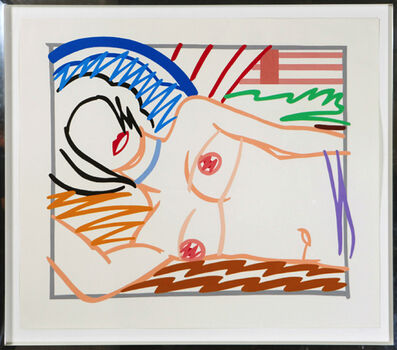 Tom Wesselmann, 'Monica in half slip', 1986