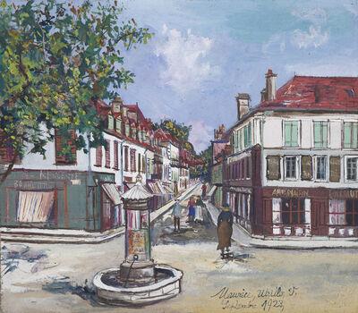 Maurice Utrillo, 'La Place Saint-Pierre, Orthez', 1923