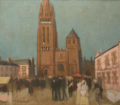 Maurice Denis, 'Folgoët Le Soir', 1929