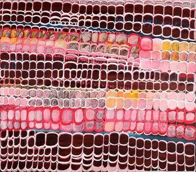 Martha T. Jones, 'Brown Grid #2', 2017