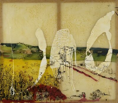 Sigmar Polke, 'Watchtower in the Eifel Region', 1987