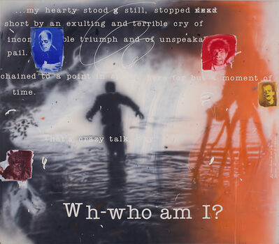 Vernon Fisher, 'Who Am I?', 2000