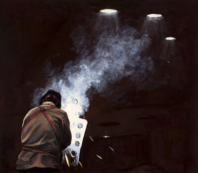 Michael Brophy, 'The Welders of Burning Alley III', 2019