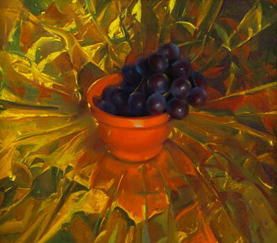 Janet Monafo, 'Grapes on Gold', 2009
