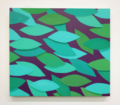 Corydon Cowansage, 'Green and Purple', 2019