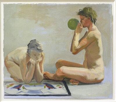 Jillian Denby, 'Two Women With Balloon', 1986