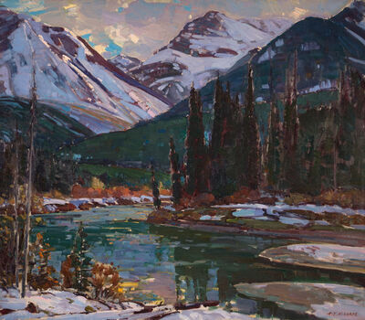 Aldro Thompson Hibbard, 'Bow River, near Banff, Canadian Rockies', 20th Century