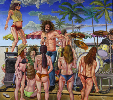 Jed Jackson, 'Sur La Plage a Go Go', 2010