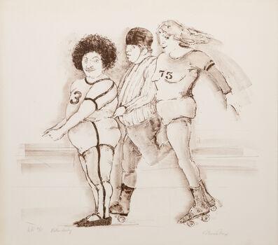 Marcia Marx, 'Roller Derby', 1976