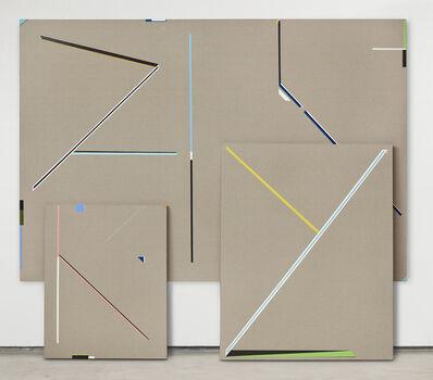 Jorge Cabieses, 'Estados de un cuerpo / States of a body 1. Triptych', 2019