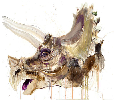 Dave White, 'Triceratops II', 2020