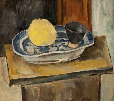 Max Weber, 'Chinese Platter', ca. 1918
