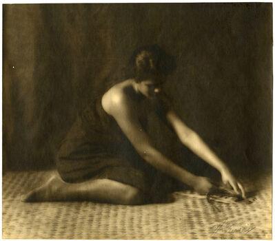 """Caroline Haskins Gurrey, '""""Tahitian-Hawaiian""""', 1909"""