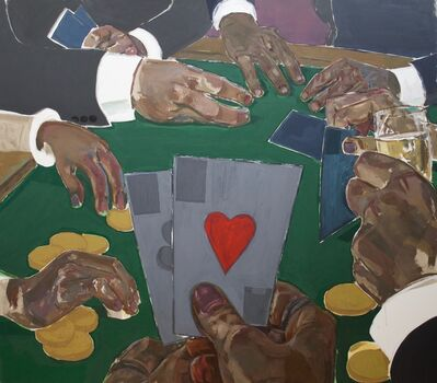 Enrico Riley, 'Untitled: Card Players, Riches of the Past, Present, Future', 2020