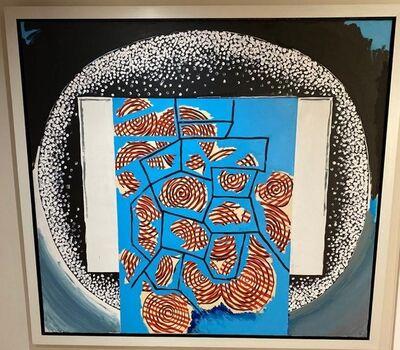 Luis Gordillo, 'Varios ojos', 1993
