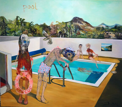 Juliane Hundertmark, 'Pool 2', 2016