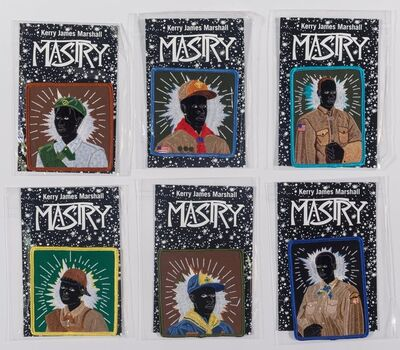After Kerry James Marshall, 'Scout Series, set of six', 2017