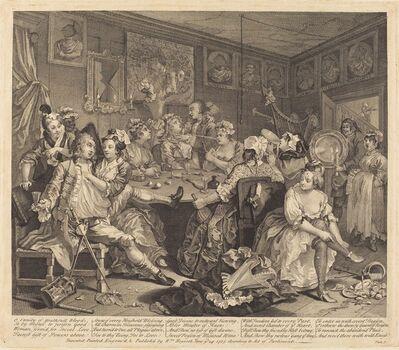 William Hogarth, 'A Rake's Progress: pl.3', 1735