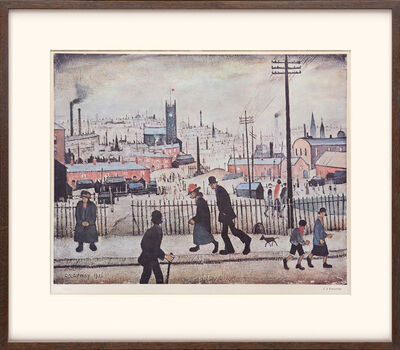 L.S. Lowry, 'View of a Town.', 1973