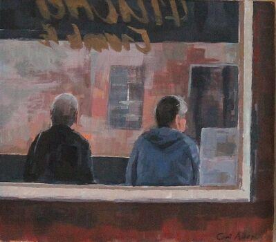 Ceri Allen, 'Bus stop study', 2019
