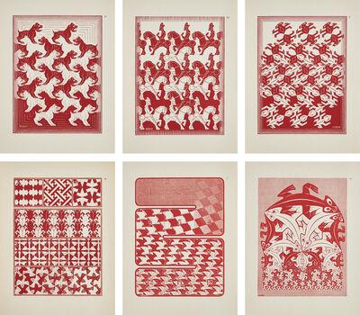 Maurits Cornelis Escher, 'Regelmatige Vlakverdeling (Regular Division of the Plane)', 1958
