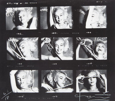 Bert Stern, 'Marilyn Monroe with jewels, from The Last Sitting for Vogue', 1962